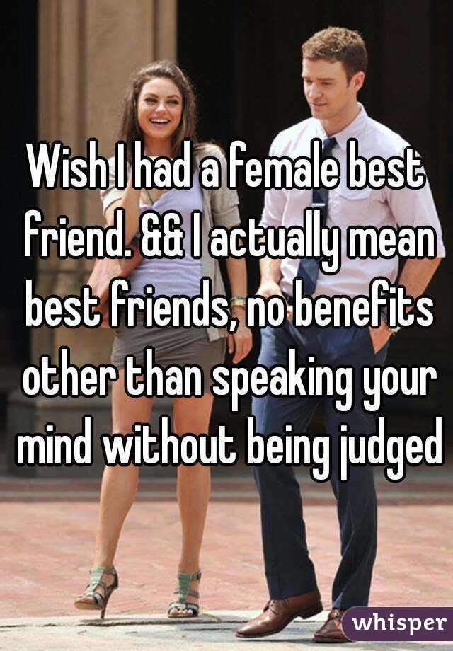 What does best friend with benefits mean